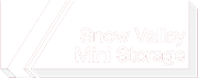 snow valley mini storage logo